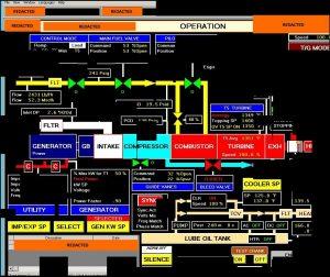 Captura de pantalla de una Interfaz hombre máquina (HMI) o panel de control a la que Berserk Bear/DragonFly tuvo acceso, de acuerdo con la investigación forense del DHS y el FBI.